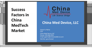 Success Factors In China MedTech Market